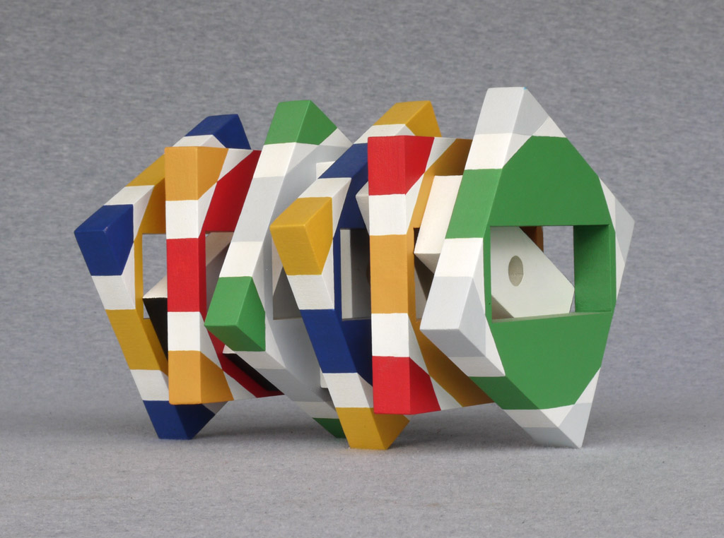 House Spirit, 2010, acrylic on mdf, by Jim Public