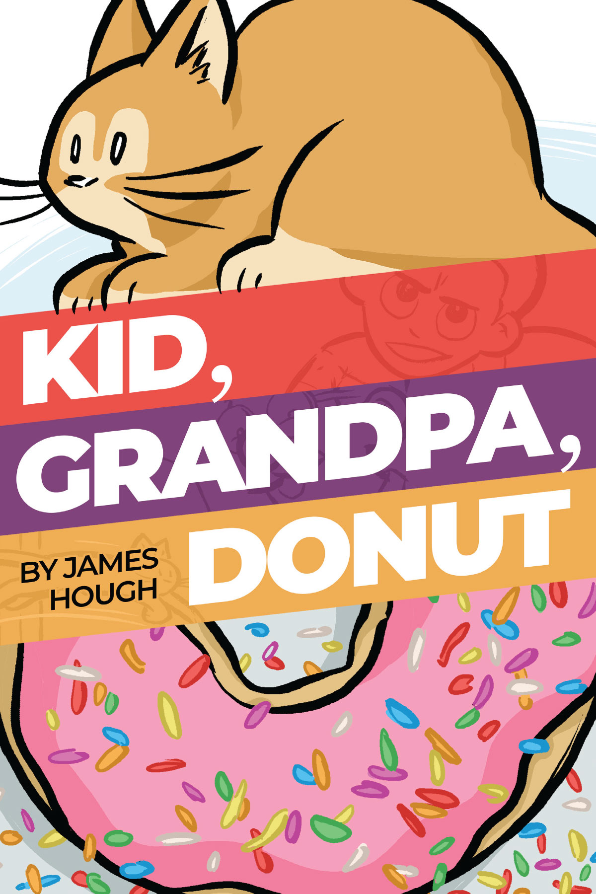 Kid, Grandpa, Donut book cover