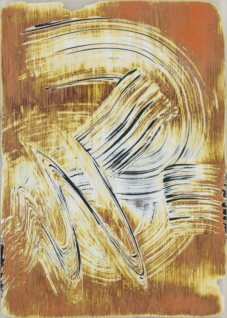 Study 1 September 2010, acrylic on acrylic, by Jim Public
