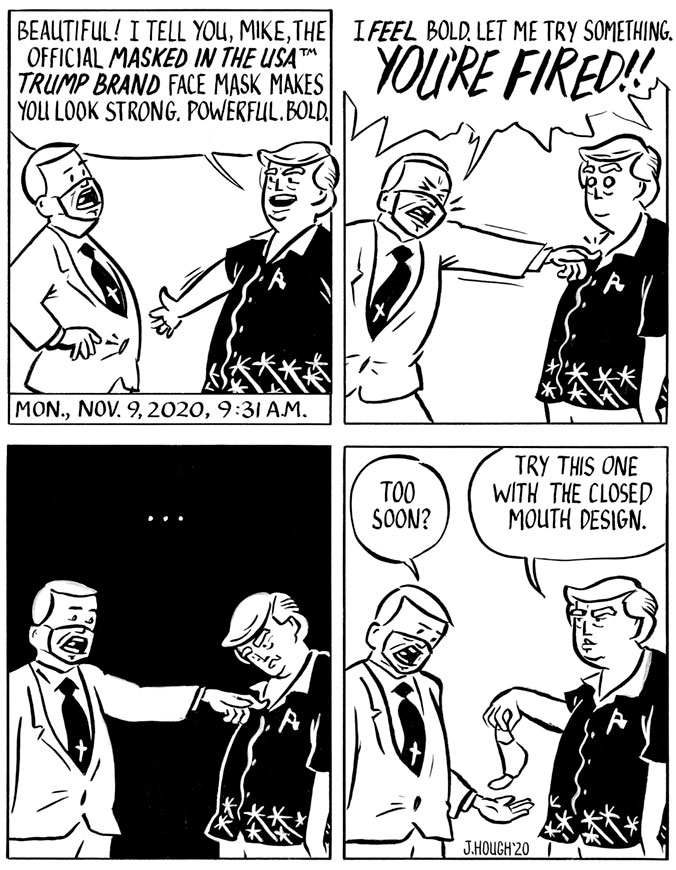 Trump After Trump Comic Strip 4-panel strip