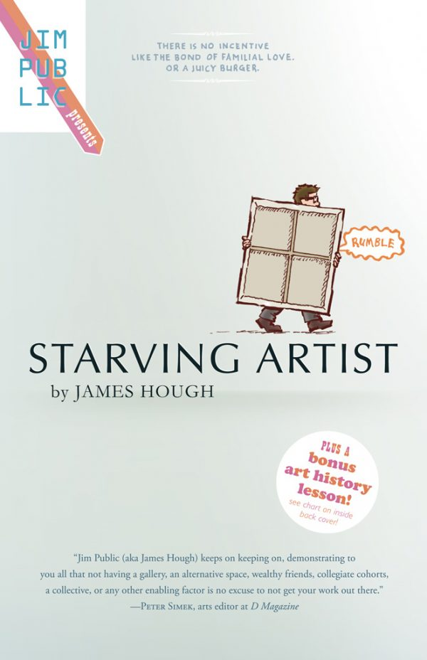 Starving Artist cover, by James Hough