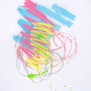 Just Strokes Series 3, Painting 2, by James Hough, 2011